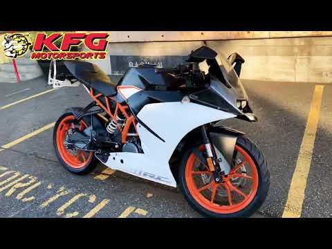2015 KTM RC 390 in Auburn, Washington - Video 1