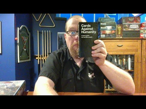 The Board Game Kaptain's review and tutorial for Cards Against Humanity