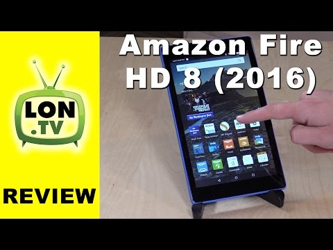 Amazon Fire HD 8 Tablet In Depth Review – New for 2016