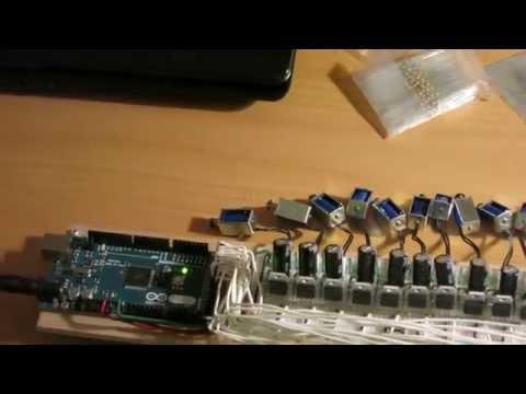 Glockenspiel solenoid control circuit test