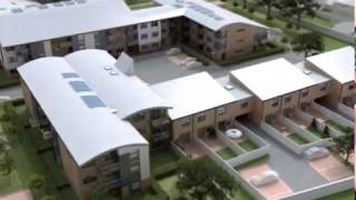 preview picture of video 'Exterior 3D Animation of Apartment Development Chertsey, UK'