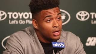 Jets top draft pick Jamal Adams squares up bet with dad