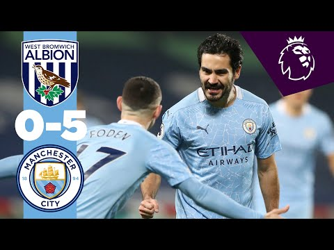 HIGHLIGHTS | WEST BROM 0-5 CITY | CANCELO GUNDOGAN MAHREZ & STERLING GOALS