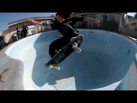 Backyard Barging 13   Backyard Pool Skating With Tristan Rennie, Keegan Palmer, and More