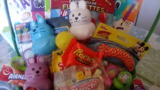 DOLLAR TREE DIY EASTER BASKET WHAT I GOT MY SON