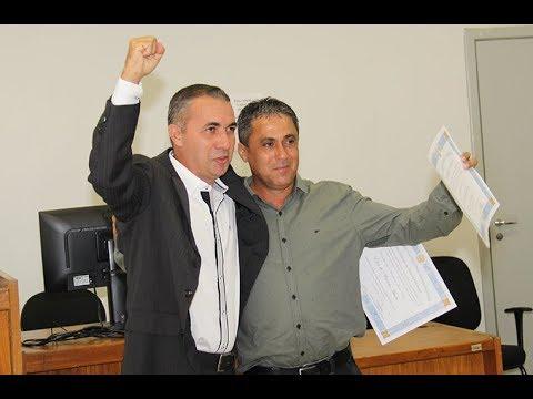 Diplomação Prefeito e vice-prefeito Antônio Dias.