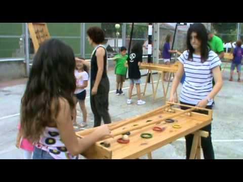 Egur jokoak / Juegos de madera | Ugarteko jaiak San Juan 2014 | Ugarte