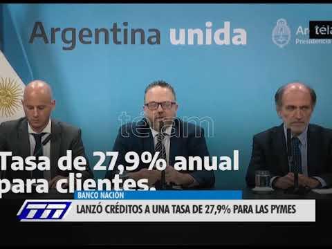 Línea de créditos del Banco Nación