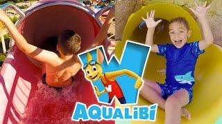 VLOG - Parc Aquatique AQUALIBI, Stands de Jeux & Shopping - 2/2
