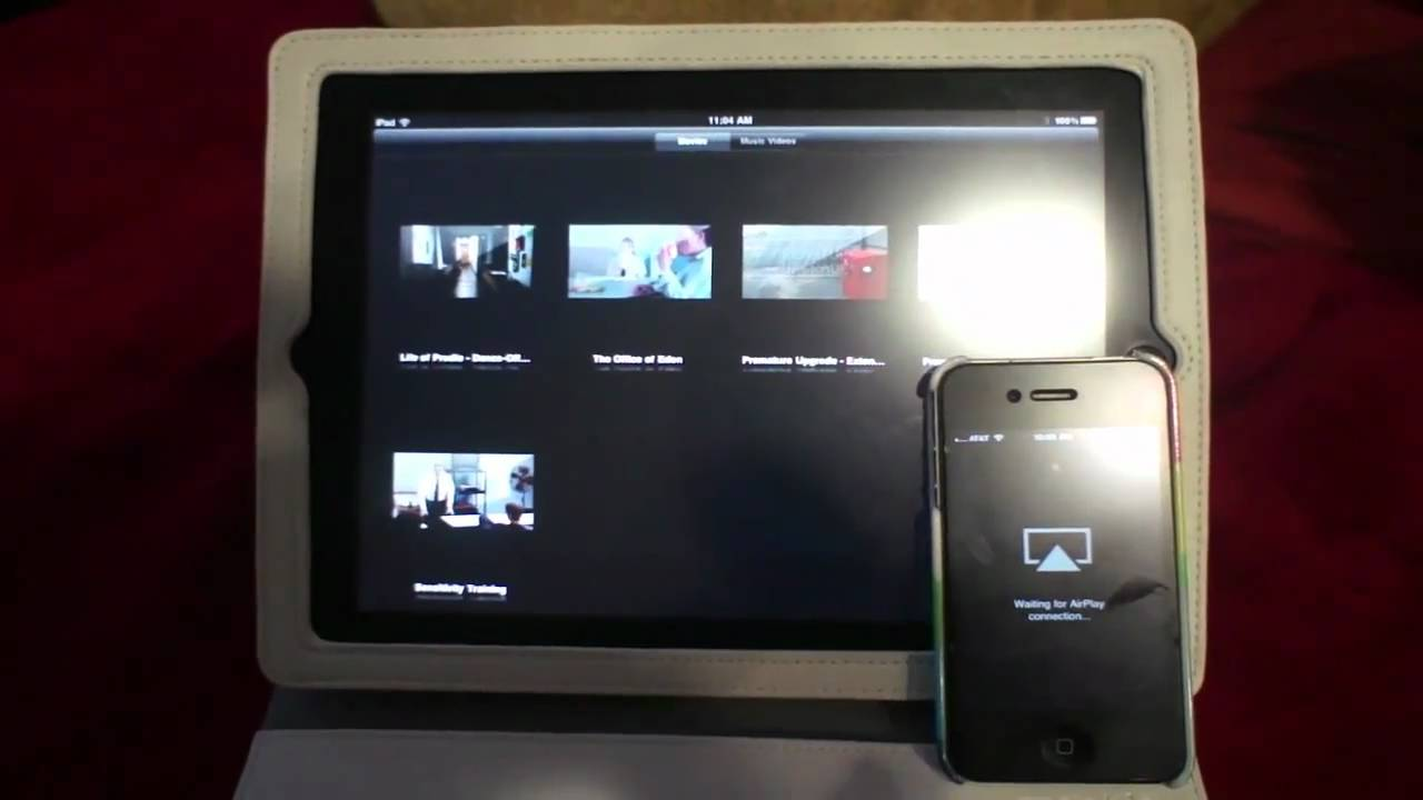 AirView Streams Media From One iOS Device To Another Via AirPlay