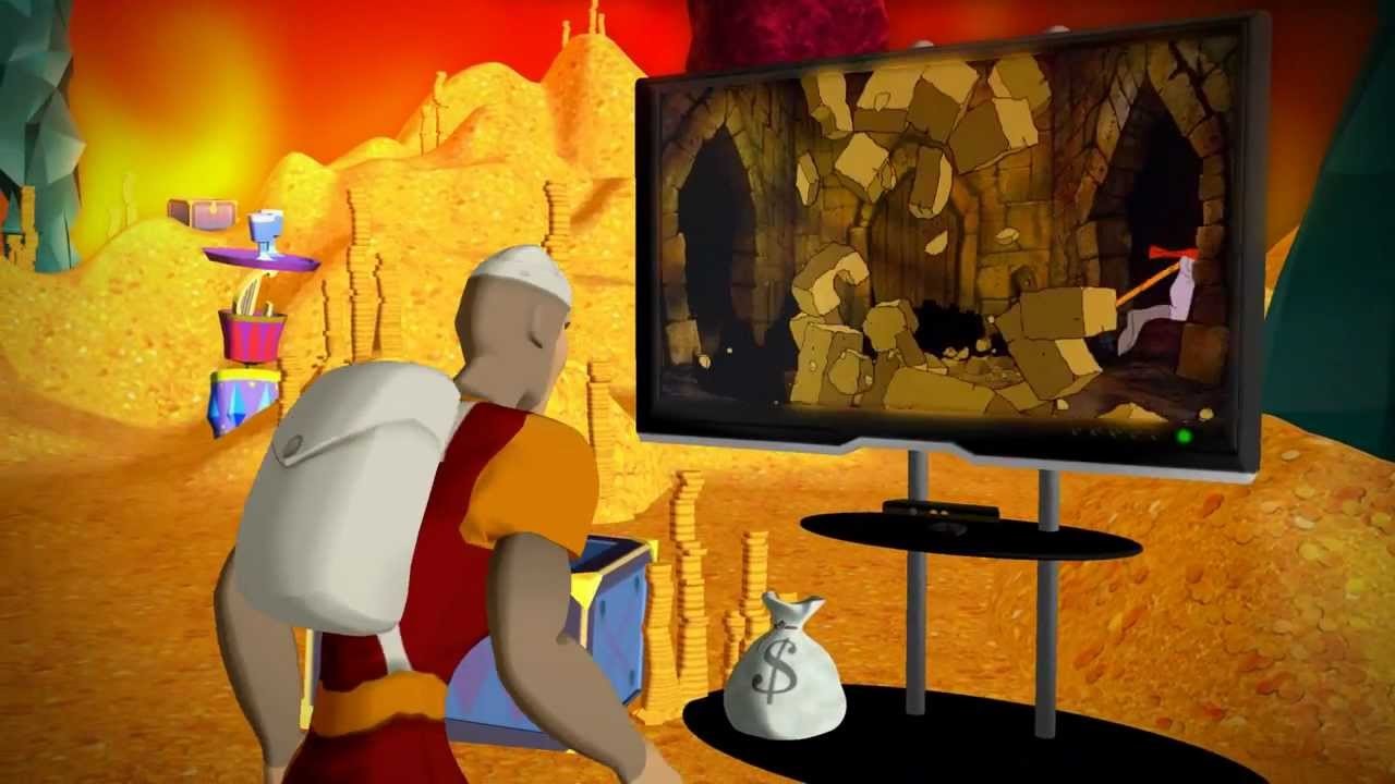 Dragon's Lair, With Kinect Support, Arrives On Xbox Live In May