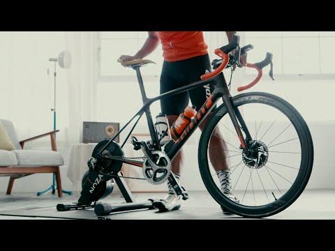 Xplova Noza S Hometrainer video