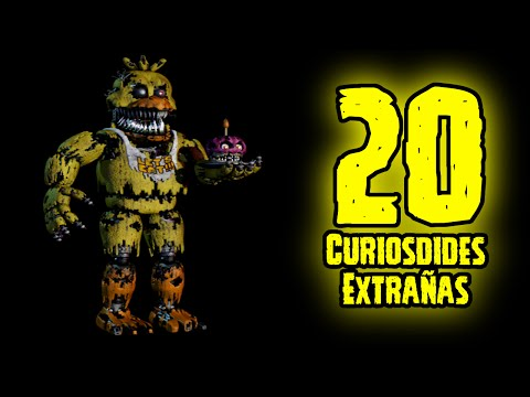 TOP 20: 20 Curiosidades Extrañas De Nightmare Chica De Five Nights At Freddy's 4 | FNAF 4