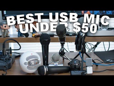 Best USB Mic Under $50 (Oct 2016)