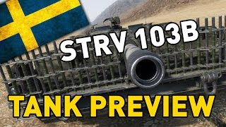 World of Tanks || STRV 103B - 9.17 Preview