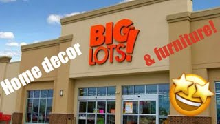 BIG LOTS HOME DECOR & FURNITURE! Let's go browsing 🤩