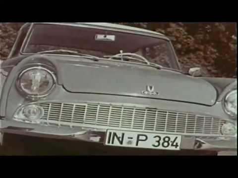 Autowerbung 50er Jahre