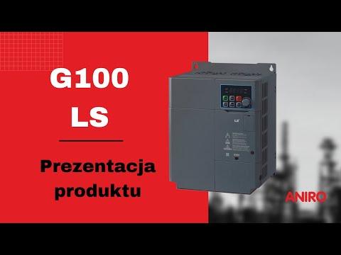 Przemiennik częstotliwości G100 LS ANIRO - zdjęcie