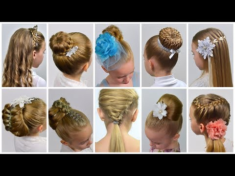 10 EASY Beautiful ELEGANT Hairstyles for PARTY |  PROM | Festival * Party hairstyles#11 #LGH