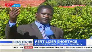Fertilizers shortage hits the country as farmers scramble for the commodity