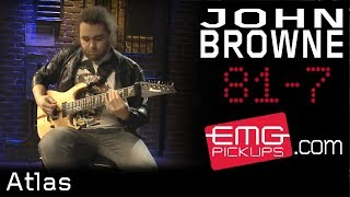"John Browne of Monuments Plays ""Atlas"" on EMGtv"