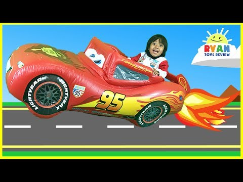 CARS 3 DISNEY PIXAR Biggest Surprise Toys Collection Opening! Lightning McQueen Car Race Kids Video