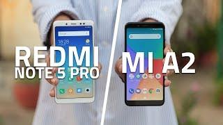 Xiaomi Mi A2 vs Redmi Note 5 Pro   Which One
