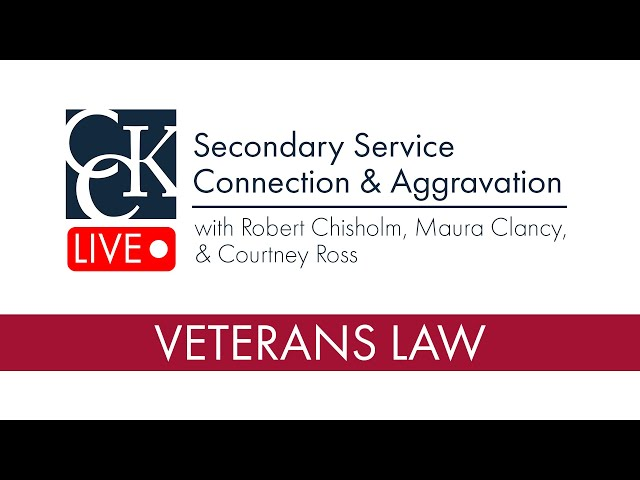 Secondary Service Connection and Aggravation (VA Claims)