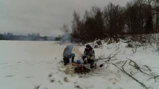 Зимняя рыбалка. оз. Тишидра. Вышневолоцкий район