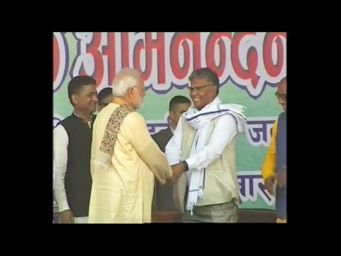 PM Modi attends Civic Reception at Barahbiga ground in Janakpur, Nepal