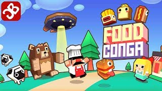 Food Conga - iOS/Android - Gameplay Video By Mokuni LLC