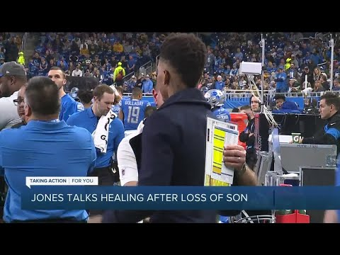 Lions WR Marvin Jones Jr. talks healing process after death of infant son