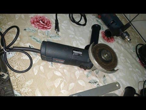 "Esmerilhadeira Bosch Angular 4 1/2"" GWS 6-115 Professional - Test De Corte"