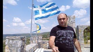 Греция Кос какая она в Октябре, пляжи стадионы горы..