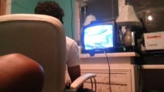 Nick raging at Halo 4