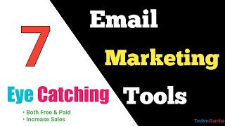 Increase sales with 7 Best email marketing software tutorial | Email Marketing Tools Free in Hindi