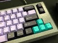 Typing Test Heavy 6 55G Lubed Novatouch Sliders Silence X
