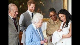 英女王看重阿奇,絕口不提孩子媽媽,由此證明:梅根太高估自己了|宮廷秘史|
