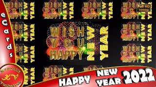Happy new year 2017 animated greeting card l e card most popular happy new year 2018 wisheswhatsapp videonew year greetingsanimation m4hsunfo