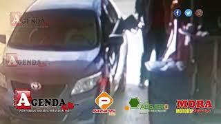 Video Muestra Momento Marlon Martinez Echa Combustible Antes Desaparición De Emely Peguero