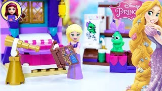 Rapunzels Castle Bedroom Lego Disney Princess Tangled Set Build Silly Play