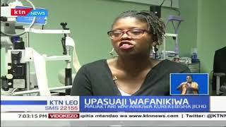 Madaktari wa Kenya wa macho wanafanya upasuaji wa stem cell transplant wa jicho