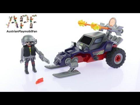 Vidéo PLAYMOBIL Action 9058 : Motoneige avec pirate des glaces