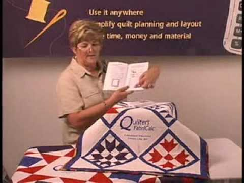 Quilter's FabriCalc - Quilter's FabriCalc Tutorial - 4 of 4