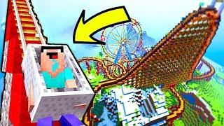 КАКУЮ ГОРКУ ВЫБЕРЕТ НУБ В МАЙНКРАФТ? Нубик против Про в Парк Развлечений Minecraft Троллинг Мультик