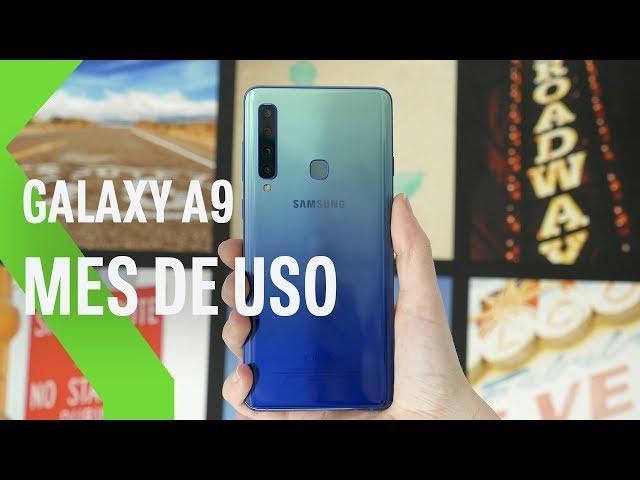 Galaxy A9, Mes de Uso: CUATRO CÁMARAS que dan MUCHO JUEGO