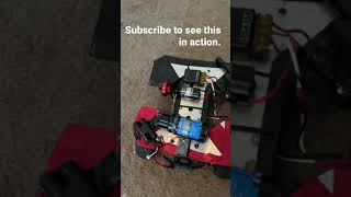 Airsoft Rc-xd with fpv camera, 1/10 scale rc car, and banger 22 sound grenade.