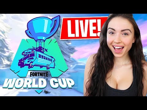 Fortnite WORLD CUP Watch Party! (LIVE)