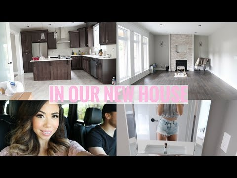 HOME TOUR🏡💕FIRST TIME IN OUR NEW HOUSE!!🏡 -SLMissGlamVlogs🏡💕