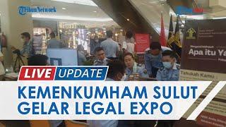 Legal Expo Sambut HUT Kemenkumham RI di 33 Provinsi, Begini Suasana di Atrium Mega Mall Manado